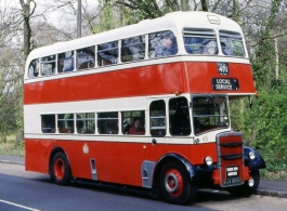 Vintage Leyland bus for weddings in Bridgwater